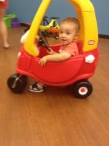 Owen cruising.....